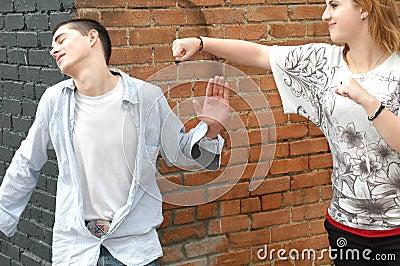 Pretend Fight
