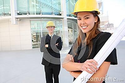 Prettey Woman Architect