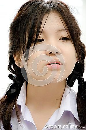 Pretty Asia girl