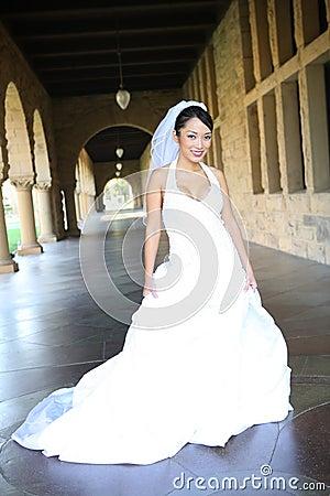 Pretty Asian Bride