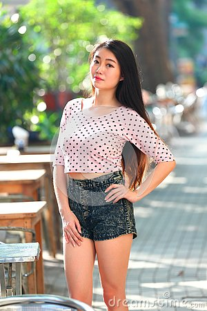 Free Pretty Asian Girl Stock Photography - 76351422