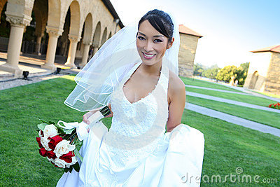 Pretty Asian Wedding Bride