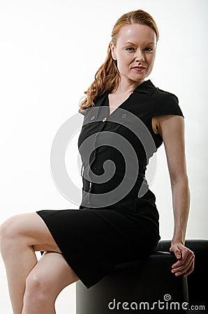 Pretty attractive brunette european caucasian