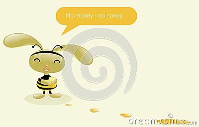 Pretty bee.