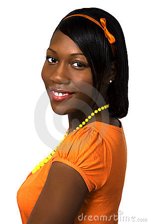 Pretty Black Teen Girl