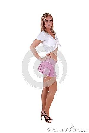 Free Pretty Blond Woman. Royalty Free Stock Photo - 7418755