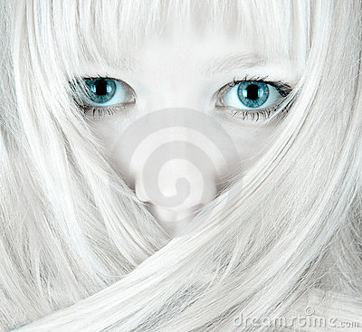 Free Pretty Blue Eyes Stock Image - 3766791