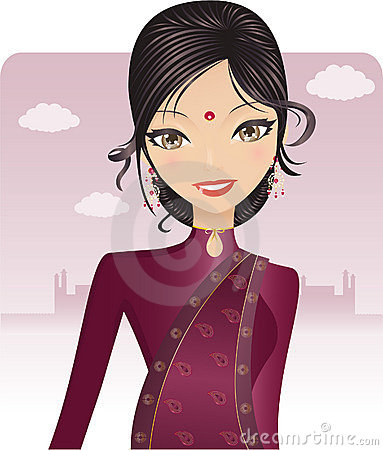 Free Pretty Bollywood Indian Stock Photo - 9914450