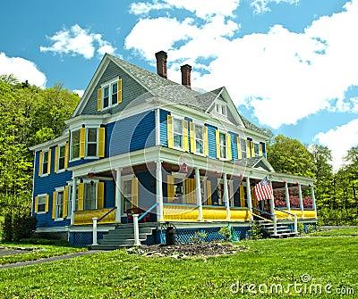 Pretty country home