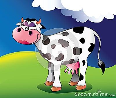 Pretty cow.