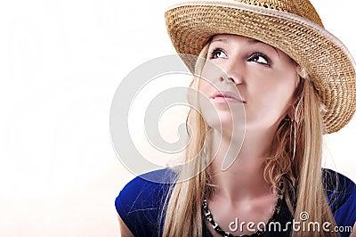 Pretty cowboy girl