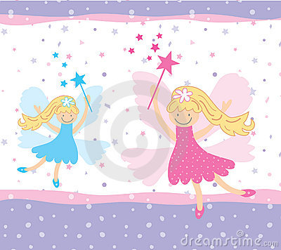 Free Pretty Fairies Royalty Free Stock Image - 13029306