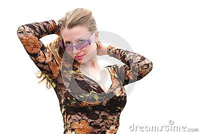 Pretty fashion girl