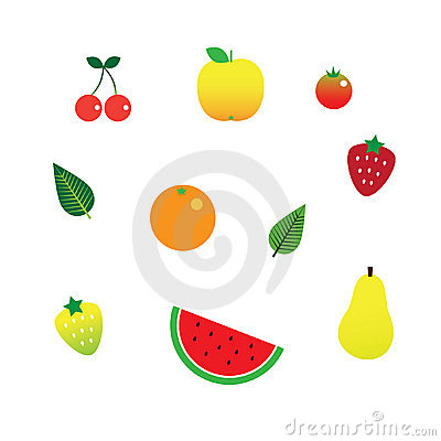 Pretty Fruit Set