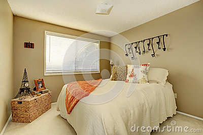Pretty gentle bedroom