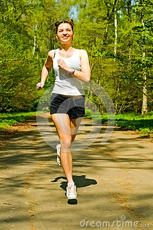 I know that girl jogging