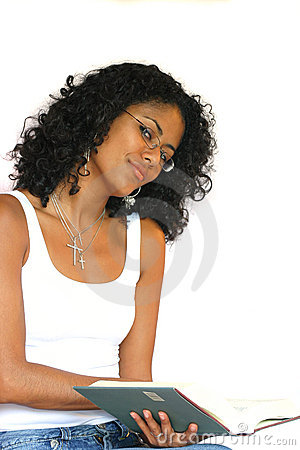 Free Pretty Girl Reading A Book Stock Photos - 211583