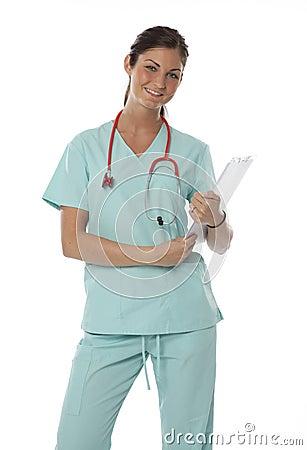 Pretty Health Care Worker