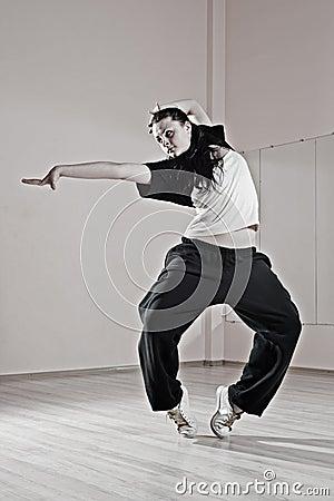 Free Pretty Hip-hop Girl In Dance Stock Photos - 10224863