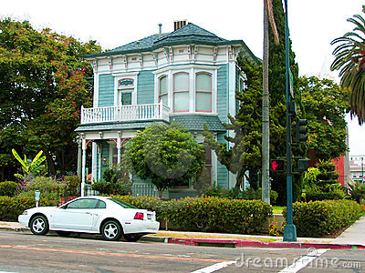 Pretty House on the street