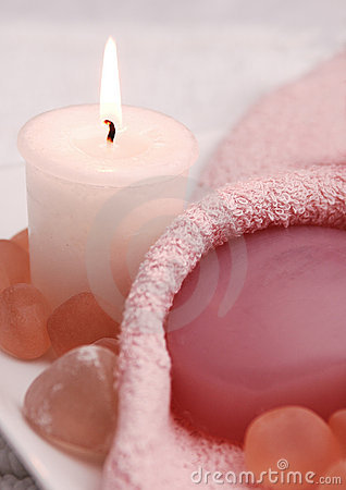 Free Pretty In Pink Spa (01) Stock Photo - 438740
