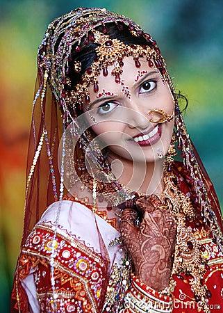 Pretty Indian Bride.