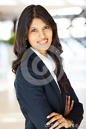 Free Pretty Indian Businesswoman Royalty Free Stock Images - 26367619
