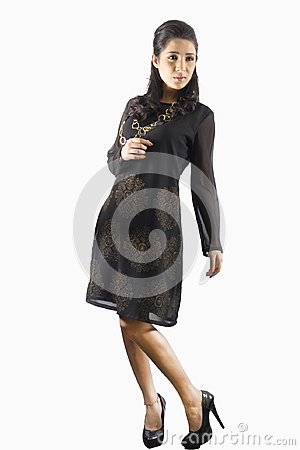 Free Pretty Indian Female Model Girl Wearing A Traditional Kurti Stock Photos - 95101863