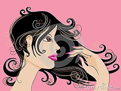 Pretty lady