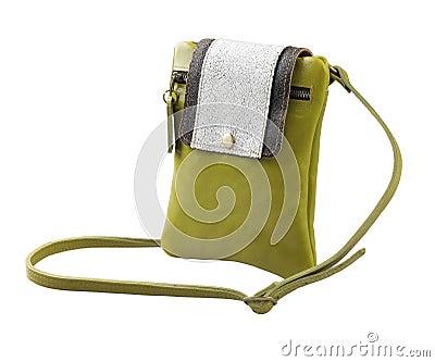 Pretty lady leather wallet