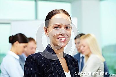 Pretty leader
