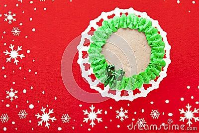 Pretty Little Christmas Cake