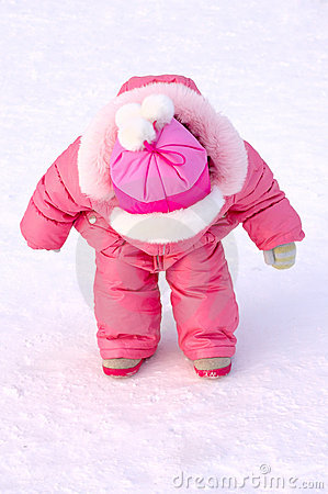 Free Pretty Little Girl In Winter Outerwear. Royalty Free Stock Photo - 8532675