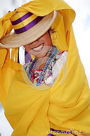 Pretty Mexican dancer