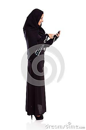 Arabian woman cell