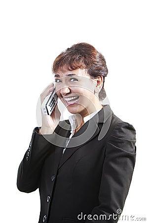 Pretty modern professional businesswoman