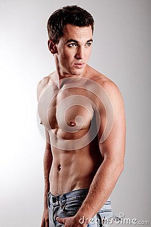 Pretty muscular guy