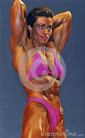 Free Pretty Muscular In Pink Stock Images - 50924764