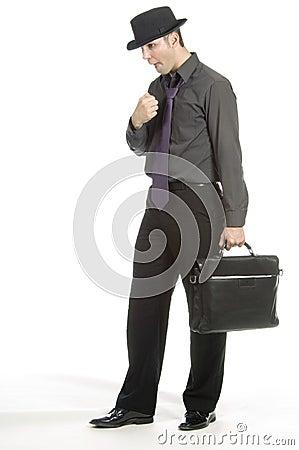 Free Pretty Nervous Businessman Stock Photos - 598973