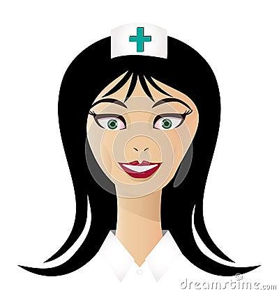 Pretty nurse face