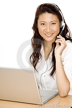 Free Pretty Office Worker Royalty Free Stock Photography - 1084507