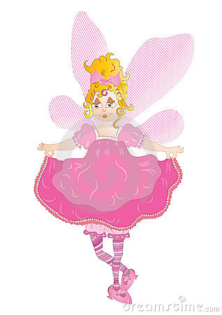 Pretty pink fairy