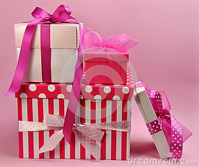 Pretty Pink Presents and Gifts