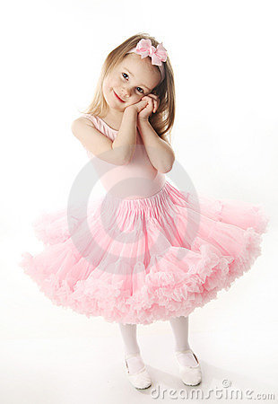 Free Pretty Preschool Ballerina Stock Image - 18803501
