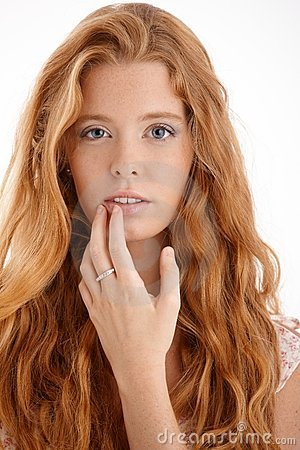 Free Pretty Redhead Portrait Royalty Free Stock Photography - 22398967