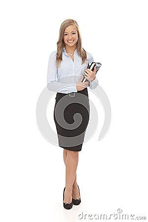 Pretty secretary full size