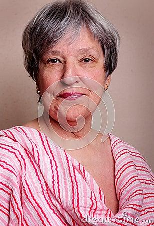 Pretty Senior Lady
