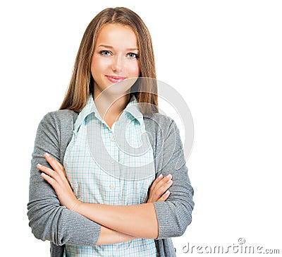 Pretty Student Girl