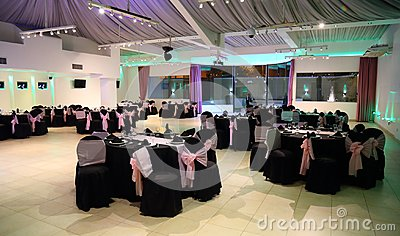 Pretty teen 15 quinceanera birthday celebration, special celebration of girl becoming woman. Stock Photo