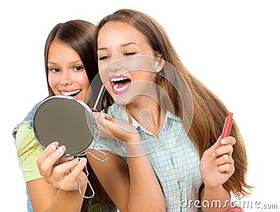 Pretty Teenage Girls